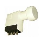Inverto Quad LNB ,WHITE TECH 0,3