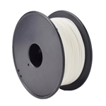 White 3D Printer Filament PLA 250g 1.75mm Diameter