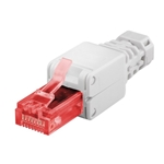 Tool-free RJ45 network connector