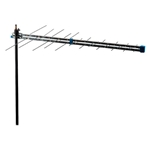 BIII-UHF antenna, channels 5/12-21/69, G = 9 dB, F connector